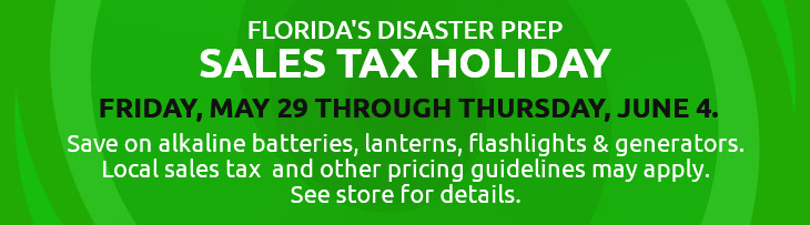Florida sales tax holiday